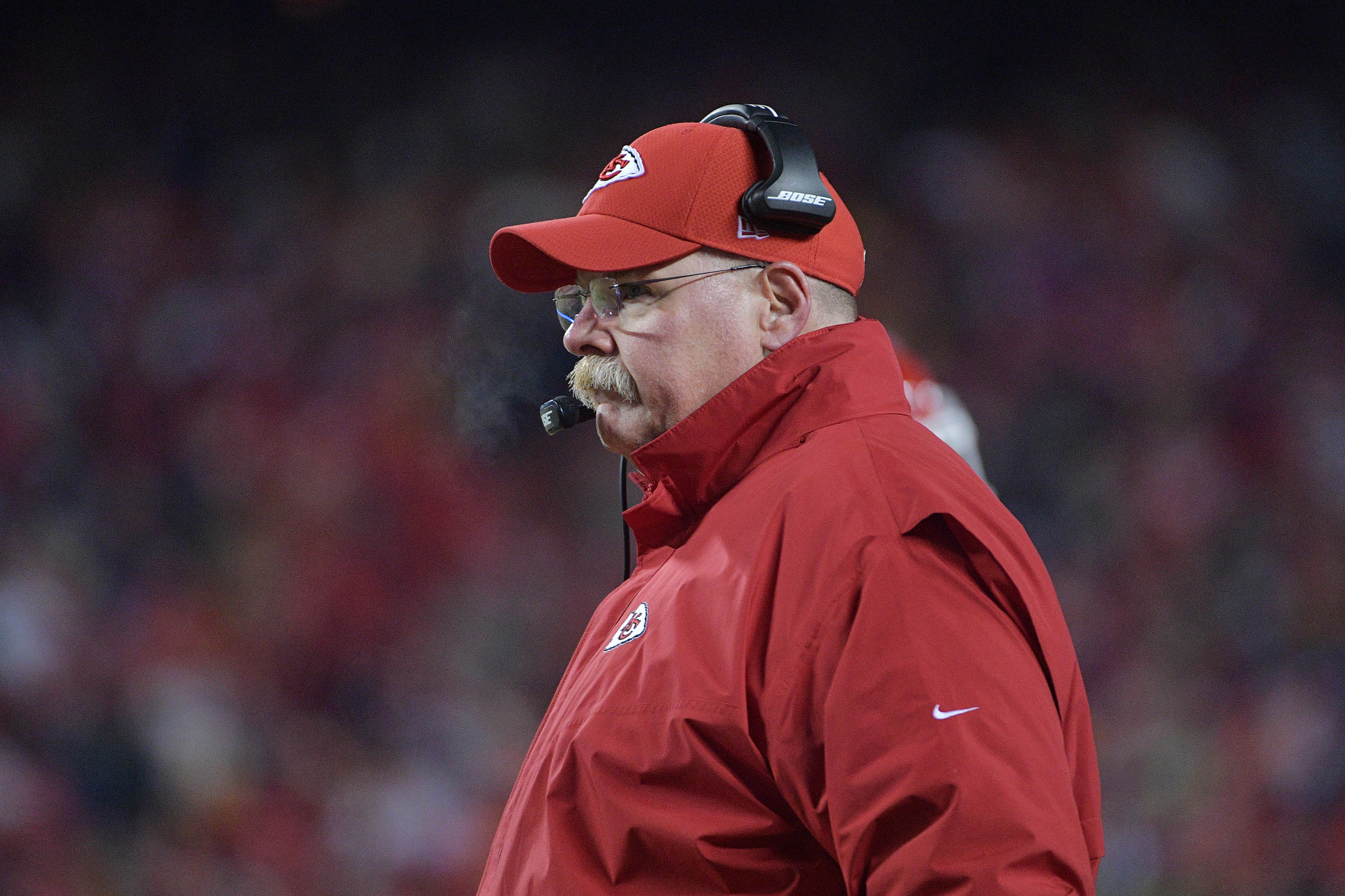 Andy Reid in Kansas City