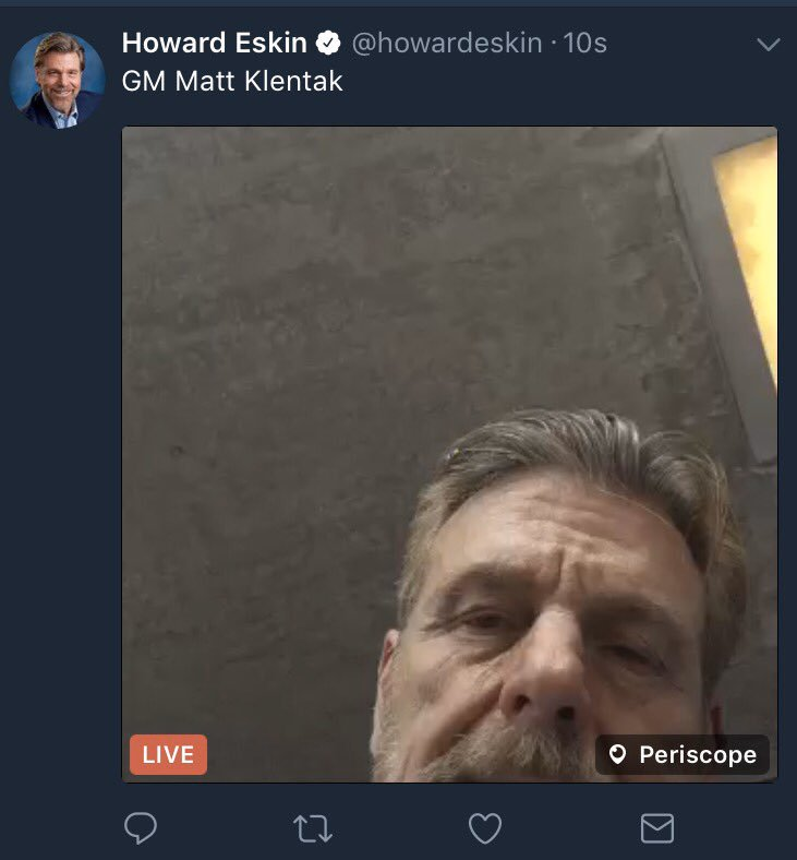 What the Hell is Howard Eskin Talking About?