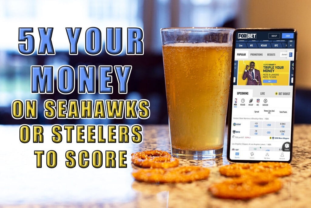 FOX Bet: Bet $20, Win $100 on Seahawks or Steelers to Score This Weekend